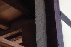 détail de l'épaisseur du béton de chanvre