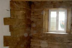 décors en bois brut