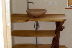 meuble SdB et vasque en tadelakt